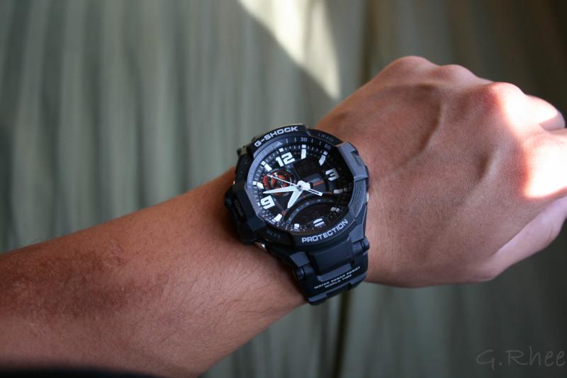 869375dbf99 G-shock watch reviews – G-Shock GA-1000-1A Aviation Series